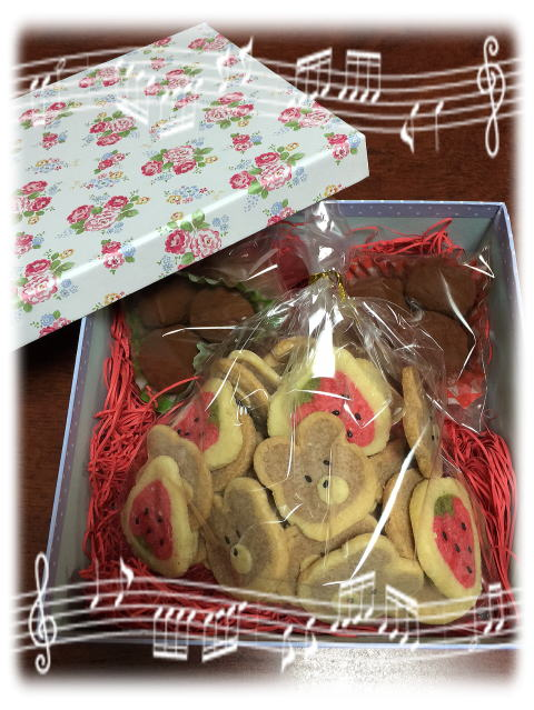 プレゼントが届いた~~・♪~~_b0189573_2048463.jpg