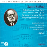 Saint-Saens: Vc-Con#1 Op.33 Etc.@Natalie Clein, A Manze/BBC Scottish SO. _c0146875_23471612.jpg