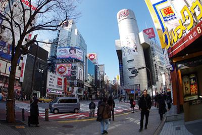 2月19日(木)の渋谷109前交差点_b0056983_12120633.jpg