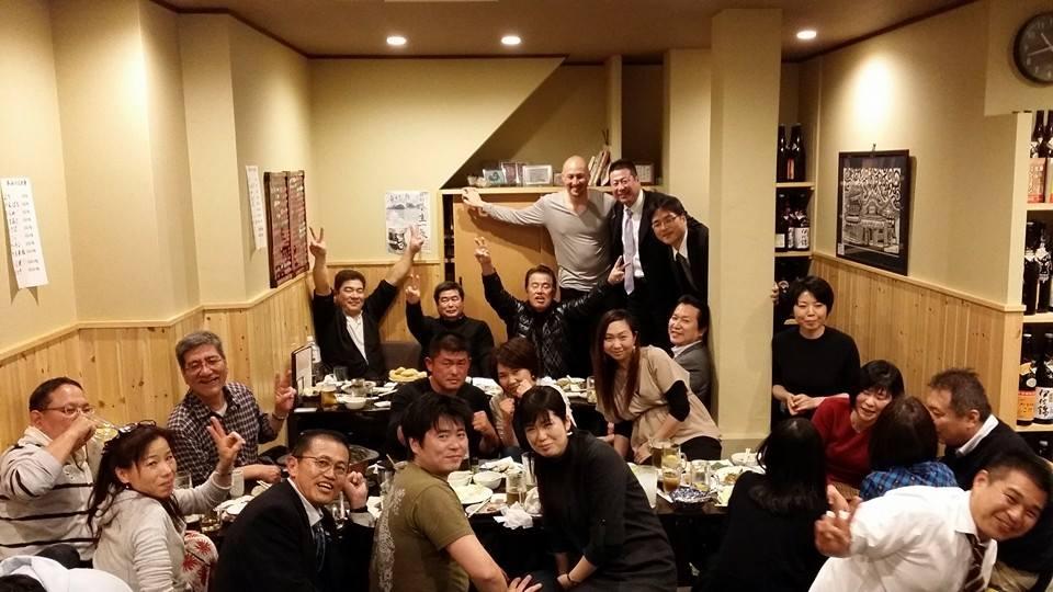 月に1度、松山のサイコーな仲間との交流 「うまおい会」に出席!_c0186691_2182441.jpg