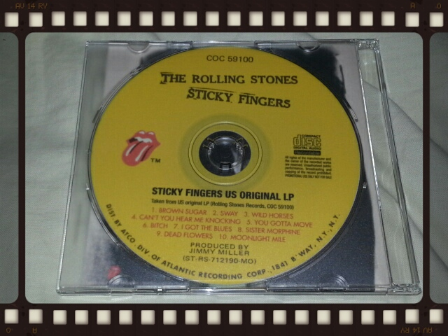THE ROLLING STONES / STICKY FINGERS US ORIGINAL LP_b0042308_0545080.jpg