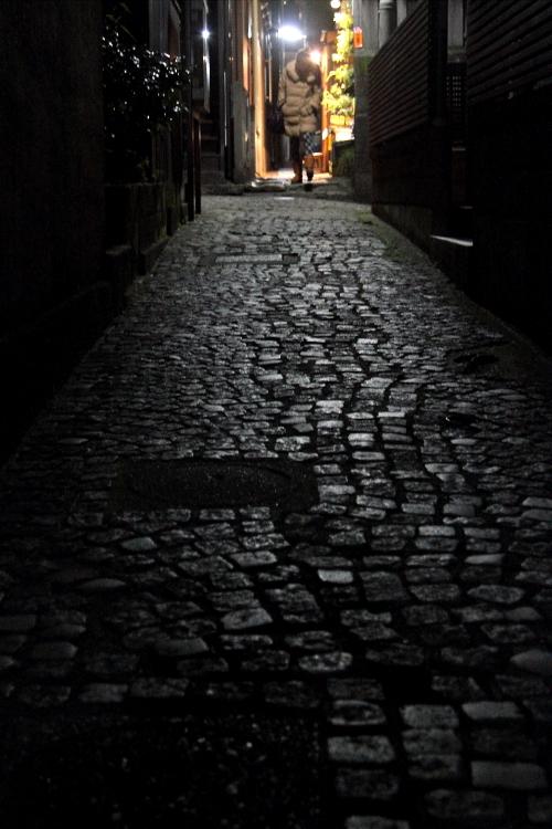 暗くて細くて歩き難い道  _b0190710_1028273.jpg