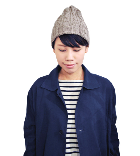 cotton knit cap / HIGHLAND2000_d0193211_19335667.jpg