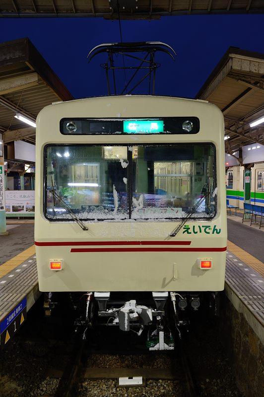 2015京の雪景色@叡電二ノ瀬駅_f0032011_19383263.jpg
