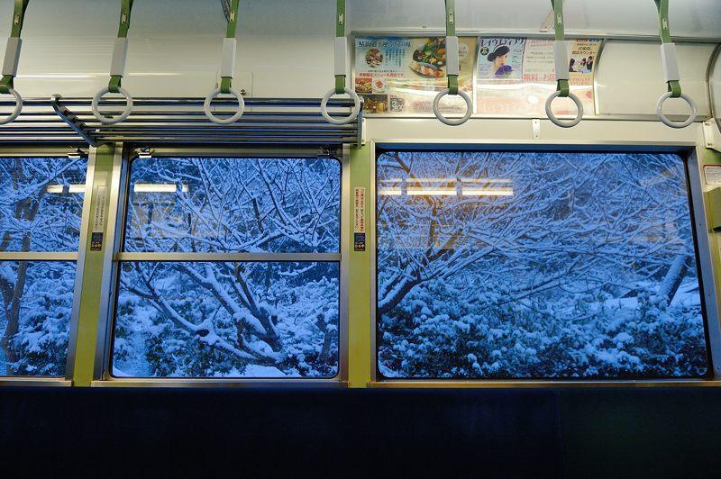 2015京の雪景色@叡電二ノ瀬駅_f0032011_19384411.jpg