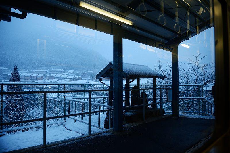 2015京の雪景色@叡電二ノ瀬駅_f0032011_19385482.jpg
