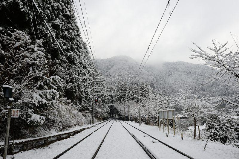2015京の雪景色@叡電二ノ瀬駅_f0032011_19441350.jpg