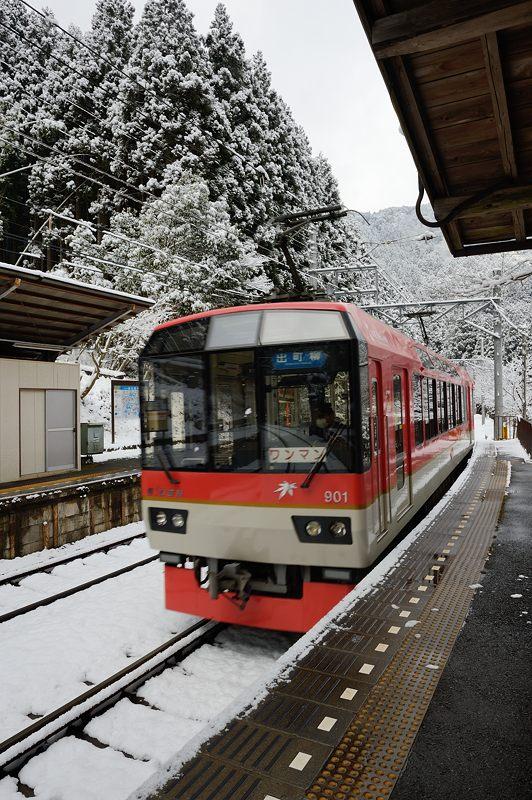 2015京の雪景色@叡電二ノ瀬駅_f0032011_19465188.jpg