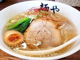 麺や@米子 ★☆ (旨出汁 塩ラーメン・2月限定)_f0080612_19264170.jpg