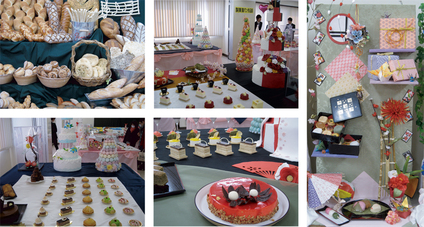 娘の卒業制作「製菓製パン作品展」に出かける。_e0120614_17374725.jpg