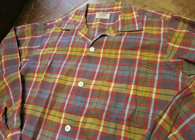 50'S ARROW ボックス オープンカラーコットンシャツ!_c0144020_18343518.jpg