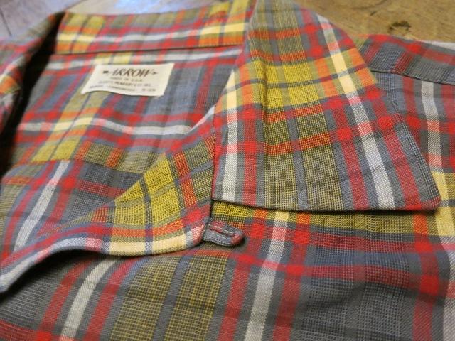 50'S ARROW ボックス オープンカラーコットンシャツ!_c0144020_18343676.jpg