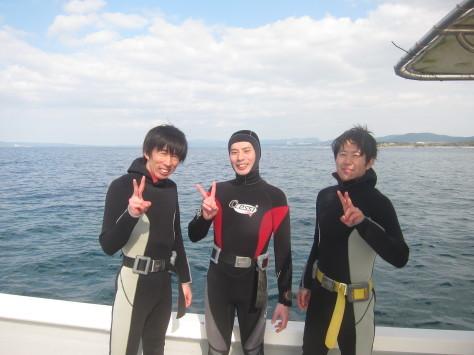 2月20日本日晴天万座潜水_c0070933_22024879.jpg