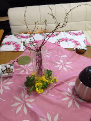ひな祭りレシピのパン教室♪_e0086864_0151790.jpg
