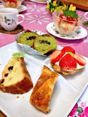 ひな祭りレシピのパン教室♪_e0086864_01528.jpg