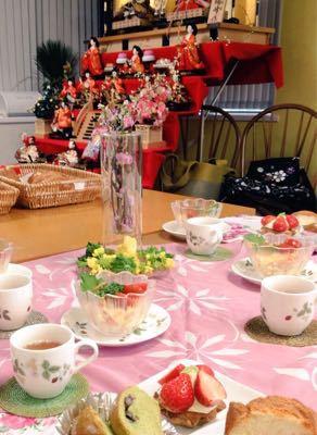 ひな祭りレシピのパン教室♪_e0086864_015436.jpg