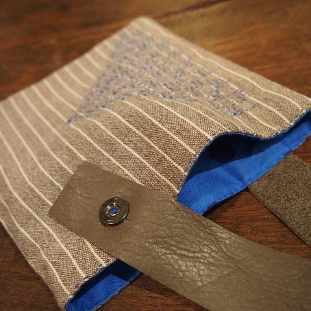 家次久仁子さんの刺繍ポシェットと刺し子のかばん_b0322280_23474838.jpg