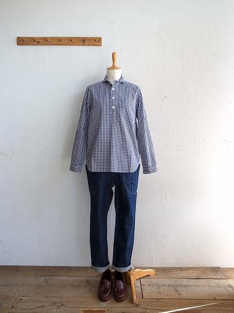 ナチュラルランドリーのシャツとチノパン_b0079489_19341990.jpg