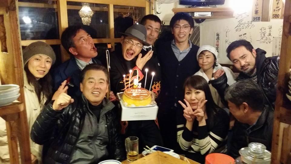 我々の仲間 ゆず庵ちゃんの53歳の生誕祭。(笑)_c0186691_1204095.jpg