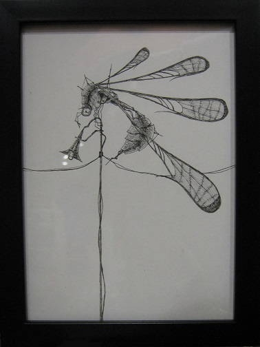第5回 - mozo mozo - 虫・蟲 展 たまごの工房企画展 その4 _e0134502_16211018.jpg