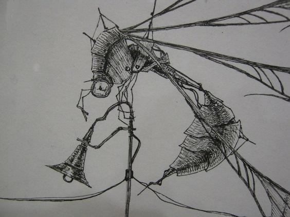第5回 - mozo mozo - 虫・蟲 展 たまごの工房企画展 その4 _e0134502_16215927.jpg