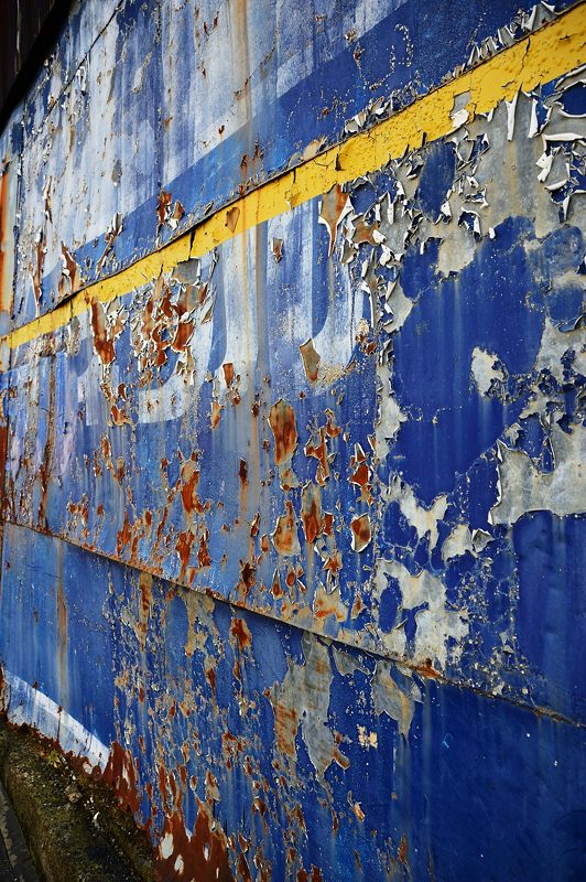 華集め・青い壁_f0032011_19375587.jpg