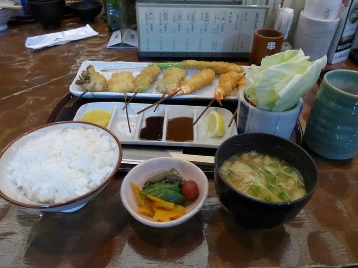 秋葉原「串揚げ 新宿立吉 AKIBA ICHI店」へ行く。_f0232060_11273414.jpg