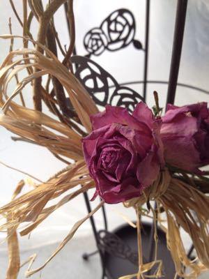 サロンを飾るドライフラワー 雑貨たち♪_e0086864_013549.jpg