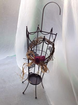 サロンを飾るドライフラワー 雑貨たち♪_e0086864_013755.jpg