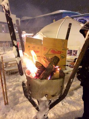 ウィスラーカフェで焚き火と花火⭐️_c0151965_1326427.jpg
