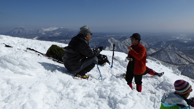 白老岳、2月20日-送られて来た写真から-_f0138096_16185936.jpg