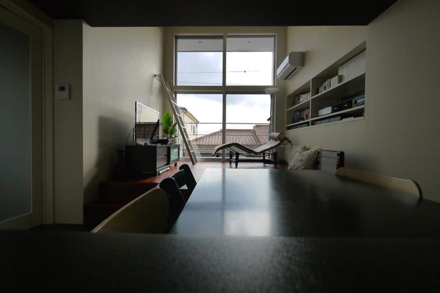 神戸市 甲南の家/想像以上の広がりを。_d0111714_1020334.jpg
