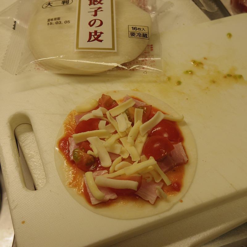 1/4スケールのPIZZAは、まるでわんこ蕎麦のよう。_b0058021_22382926.jpg