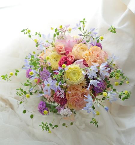 4シェアブーケ 東郷記念館様へ  「本日、結婚式が」という魔法について_a0042928_21563172.jpg