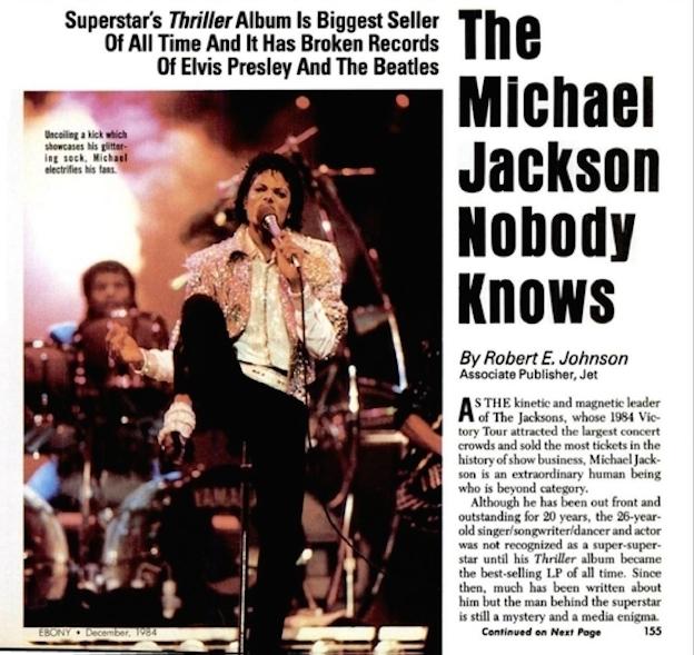 """1984年「EBONY」インタビュー \""""The Michael Jackson Nobody Knows\""""_f0134963_22121724.jpg"""