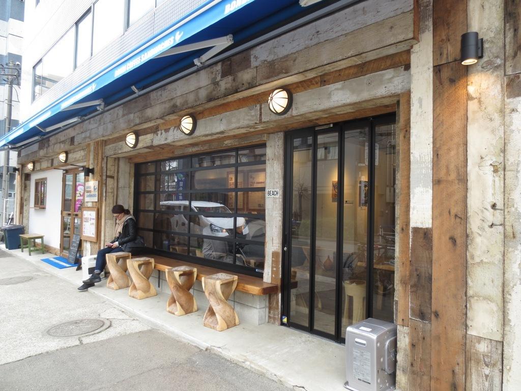 日本民藝館 & BONDI COFFEE SANDWICHES_c0310571_21221609.jpg