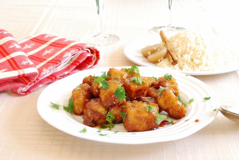 鶏のオレンジ煮(たんぱく質を摂ろう~)_c0122889_14423348.jpg