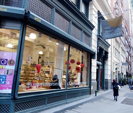 NYで「紙屋さん」と言えばココ、「ペーパー・プレゼンテーション」 Paper Presentation_b0007805_17574032.jpg