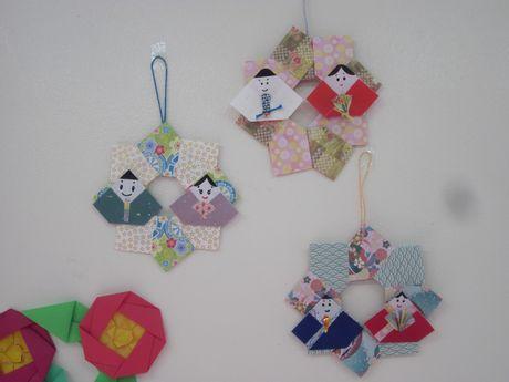 簡単 折り紙:折り紙 ひなまつり-pichiku.exblog.jp