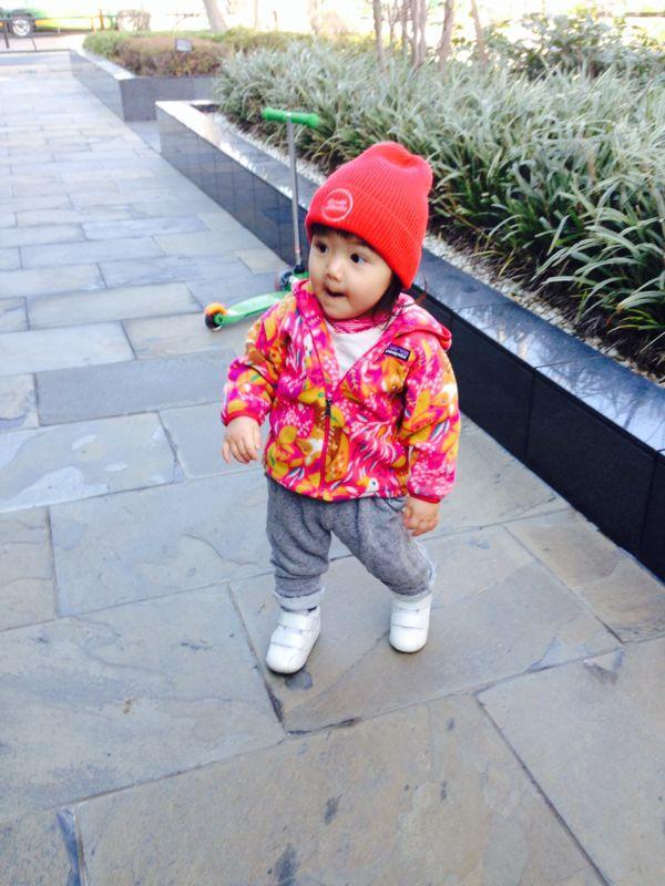 みつき1歳4ヶ月 〜歩き始めた!_e0253026_7442441.jpg
