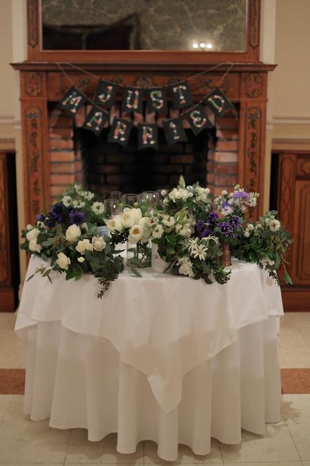 冬の装花 リストランテASO様へ ナチュラル&ヴィンテージ_a0042928_21123841.jpg