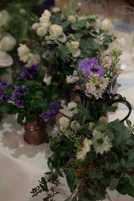冬の装花 リストランテASO様へ ナチュラル&ヴィンテージ_a0042928_21153413.jpg