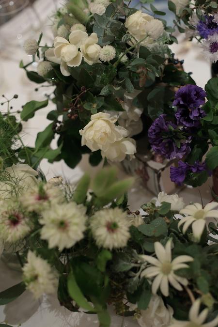 冬の装花 リストランテASO様へ ナチュラル&ヴィンテージ_a0042928_21213586.jpg