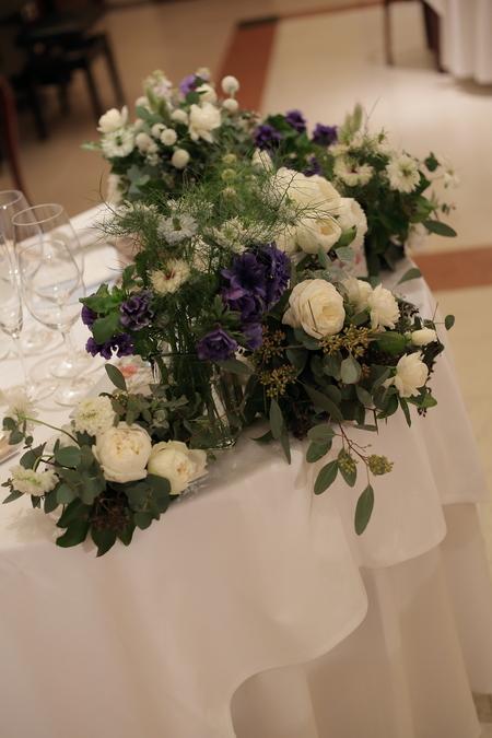冬の装花 リストランテASO様へ ナチュラル&ヴィンテージ_a0042928_21222052.jpg