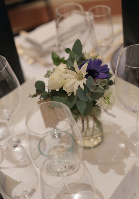 冬の装花 リストランテASO様へ ナチュラル&ヴィンテージ_a0042928_2135342.jpg