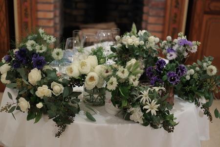 冬の装花 リストランテASO様へ ナチュラル&ヴィンテージ_a0042928_21544054.jpg