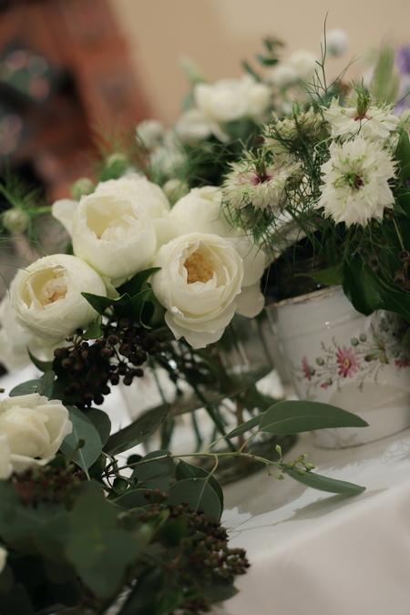 冬の装花 リストランテASO様へ ナチュラル&ヴィンテージ_a0042928_2265363.jpg