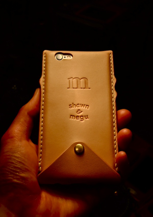 iphone 6 leather cover  + custom_b0172633_21254397.jpg