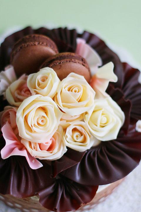 薔薇チョコムースケーキ_f0149855_14551493.jpg