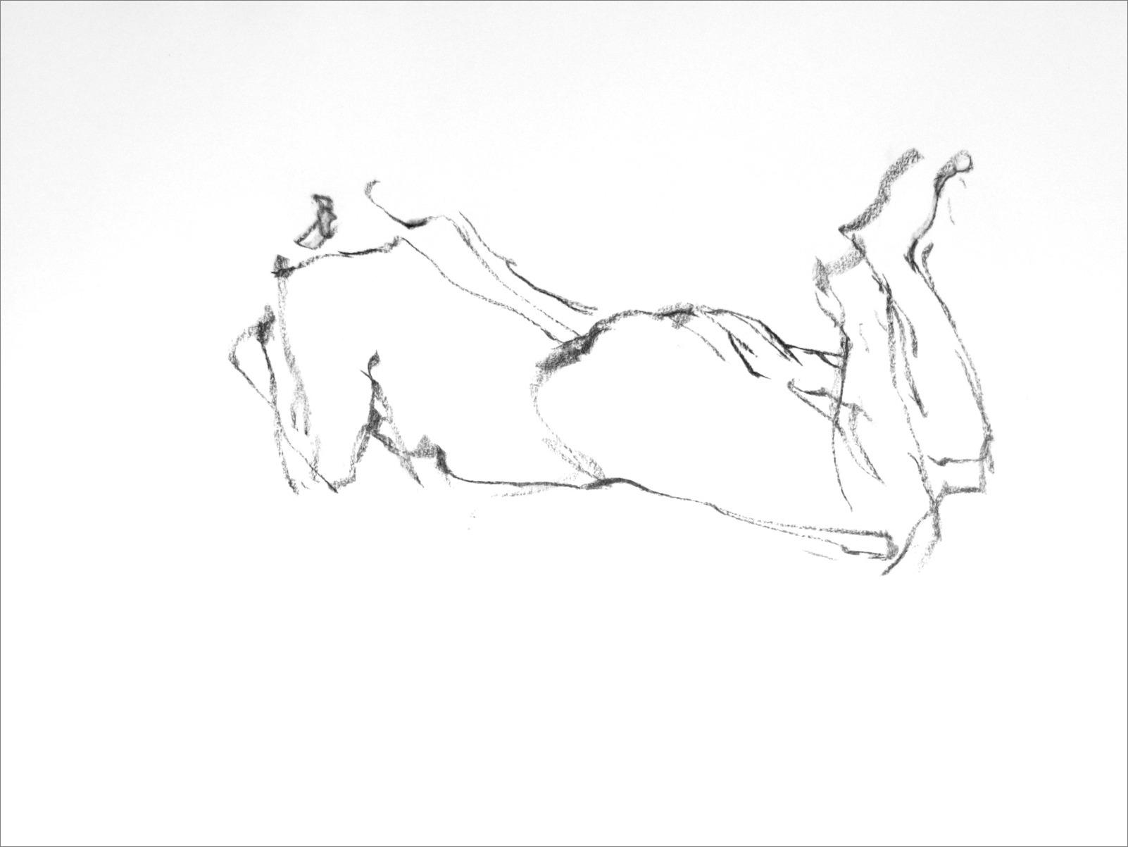 《 チョコラ線描木炭90秒 Ⅱ 》_f0159856_15103082.jpg
